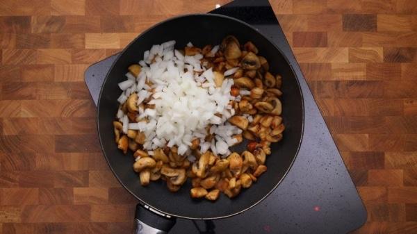 Куриная грудка с рисом и грибами Идеи рецептов